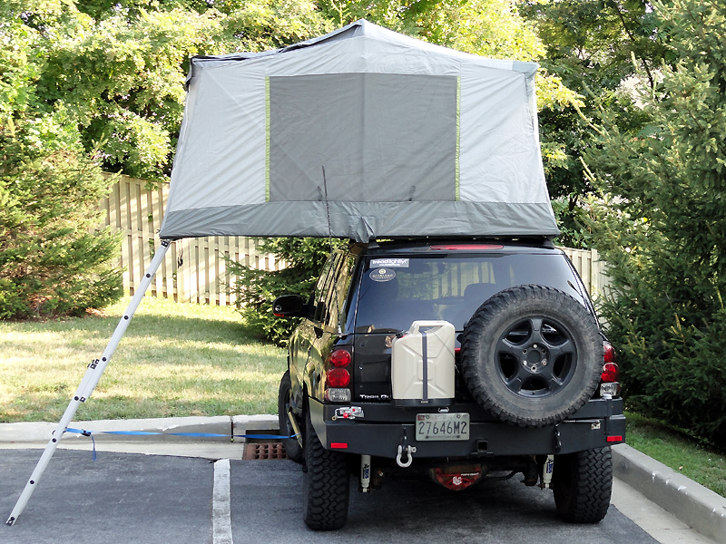 & DIY roof rack tent - S-10 Forum